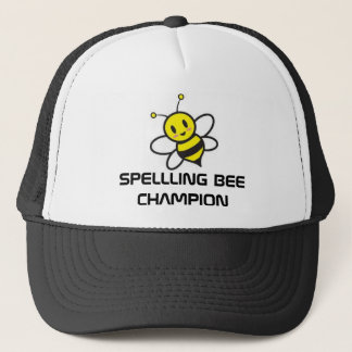 SPELLING BEE CHAMP TRUCKER HAT