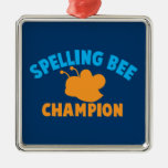 Spelling Bee Champion Christmas Tree Ornaments