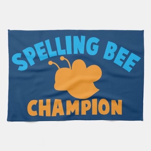 Spelling Bee Champion Hand Towels