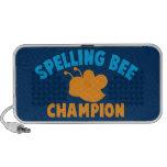 Spelling Bee Champion iPhone Speakers