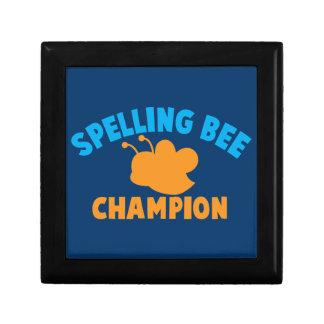 Spelling Bee Champion Jewelry Box