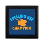 Spelling Bee Champion Trinket Boxes