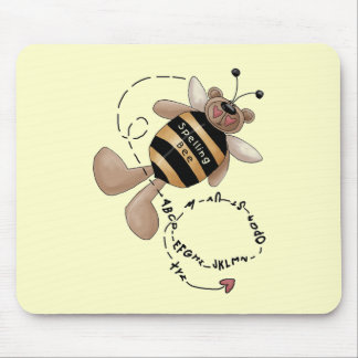 Spelling Bee Tshirts and Gifts Mouse Pad