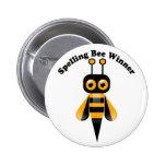 Spelling Bee Winner 2 Inch Round Button
