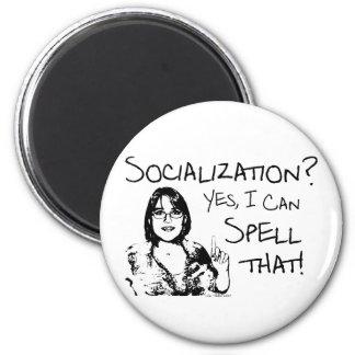 Spelling Socialization Magnets