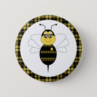 SpellingBee Bumble Bee Button