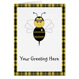 SpellingBee Bumble Bee Greeting Card