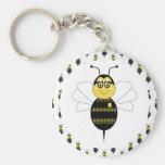 SpellingBee manosea llavero de la abeja