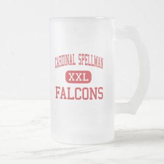 Spellman cardinal - Falcons - alto - Bronx Taza Cristal Mate