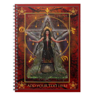 Spellweaver Notebook (Custom Red)