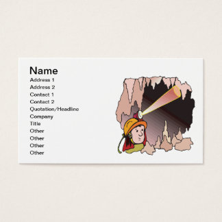 Spelunking 11 business card
