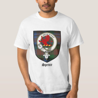 Spence Clan Crest Badge Tartan T-Shirt