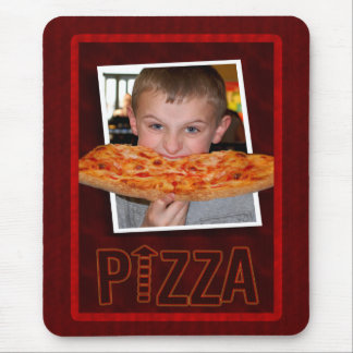Spence Eating Pizza Mousepad