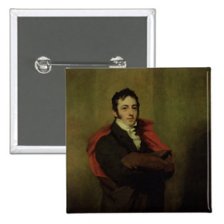 Spencer, 2nd Marquess of Northampton, 1821 2 Inch Square Button