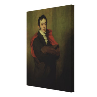 Spencer, 2nd Marquess of Northampton, 1821 Canvas Print