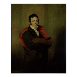 Spencer, 2nd Marquess of Northampton, 1821 Poster
