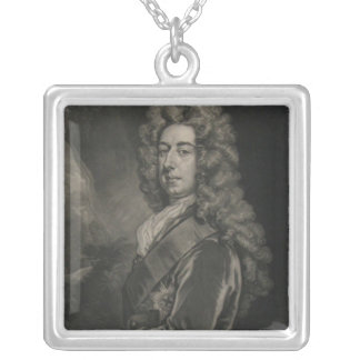 Spencer Compton, Earl of Wilmington Square Pendant Necklace