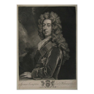 Spencer Compton, Earl of Wilmington Poster