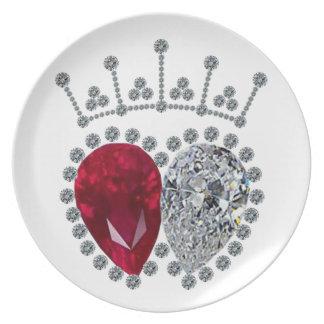 Spencer Engagement Ring Dinner Plate