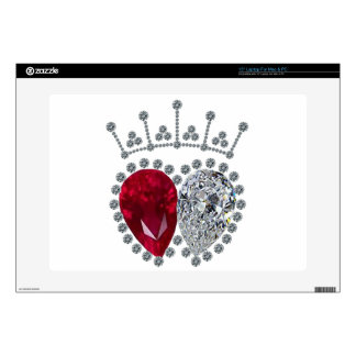Spencer Engagement Ring Laptop Decal