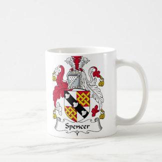 Spencer Family Crest Coffee Mug