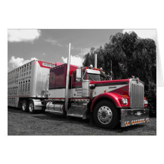 Spencer Kenworth W900A Note Card