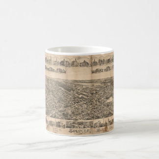 Spencer Massachusetts (1892) Coffee Mug