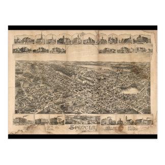 Spencer Massachusetts (1892) Postcard