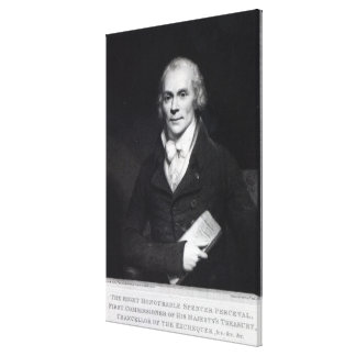 Spencer Perceval Canvas Print