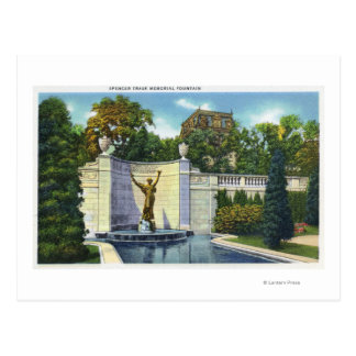 Spencer Trask Memorial Fountain View Post Cards
