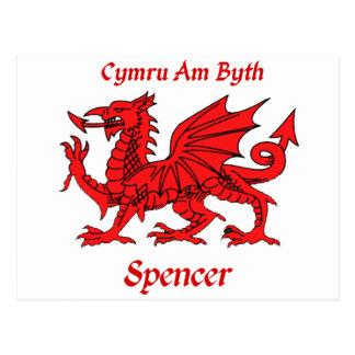 Spencer Welsh Dragon Post Cards