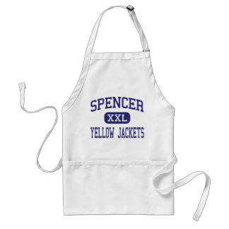 Spencer Yellow Jackets Middle Spencer Aprons