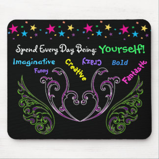 Spend Every Day - motivational Mouse Pad