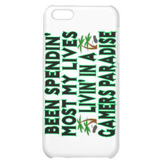 Spending Lives In Gamers Paradise iPhone 5C Cases