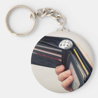 Spending speed keychain