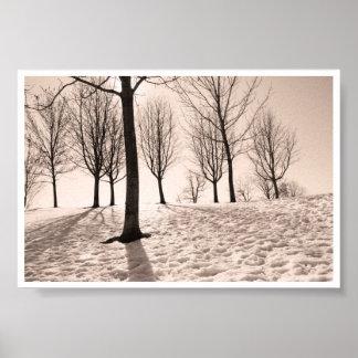 spending winter poster