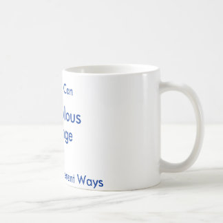 Spendulous , Change, Yes We Can, A Trillion Dif... Classic White Coffee Mug