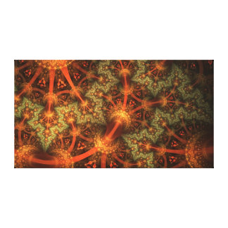 Sperical Triangulation on wrapped canvas (37x20) Stretched Canvas Print
