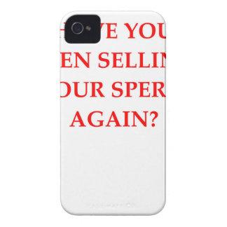 sperm bank iPhone 4 Case-Mate case