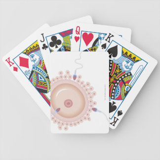 Sperm Containing Mutated Gene Bicycle Playing Cards