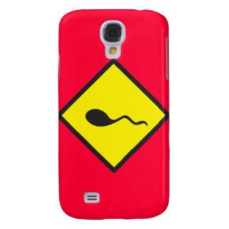 SPERM crossing Samsung Galaxy S4 Cover