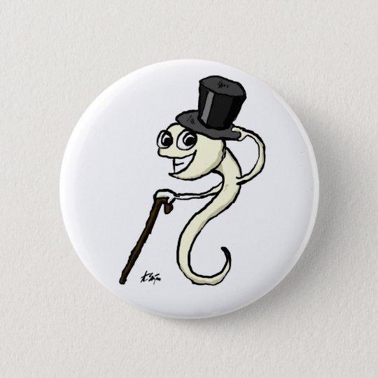 Sperm in a Top Hat Button