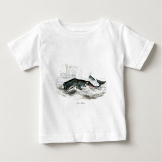 Sperm Whale #9 Gift for him Baby T-Shirt