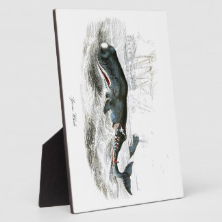 Sperm Whale #9 Gift for him Display Plaques