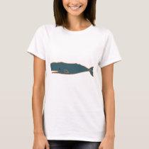 Sperm Whale - blue T-Shirt