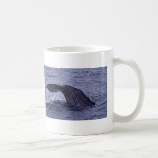 Sperm Whale Diving Coffee Mug