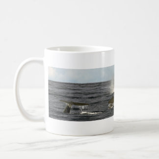 Sperm whales in the Azores Classic White Coffee Mug