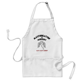 Spermicide! Red Handed! Adult Apron