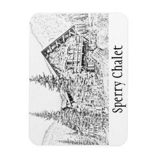 Sperry Chalet Commemorative Magnet