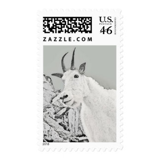 Sperry Chalet Mountain Goat Postage Stamps
